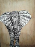 Elephant by ZoeSotet