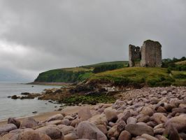 Minard Castle by IrishWandering