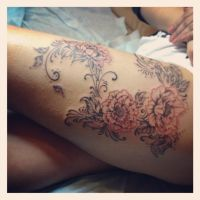 poppies in progress by ABYSS-TAT-2S