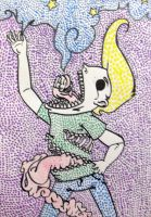 Poster Pop Pointillism by renachristsuperstar
