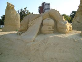 Sand art in burgas 14 by tonev