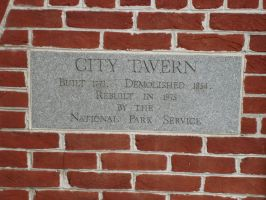 City Tavern Plaque by steveclaus