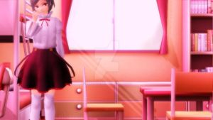 {MMD} Younger Kido Tsubomi by Rilianne