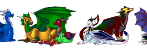 COM: Kings and Queens of Avalar by TheBluestJay