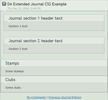 DA Extended Journal CSS by wonderwhy-ER