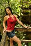 Stacey - red top 1 by wildplaces