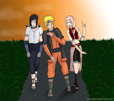 Team 7: In another life by LoneWolfsHeart