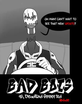 .: BAD BOIS page 4 preview :. by IronicalGhosty