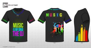 music t-shirt by nour-el-imene