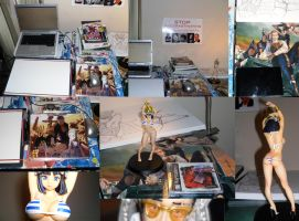+Workspace with Mini-con Swag+ by liquidxlead