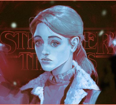 Nancy/ Stranger Things by SvetoslavPetrov