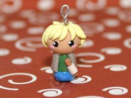 Chibi Churro Child Charm by KBelleC