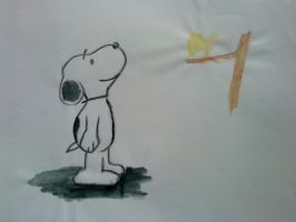 Snoopy by Wolfo-da-Disaster