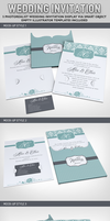 Wedding Invitation Jacket Mock-up by idesignstudio