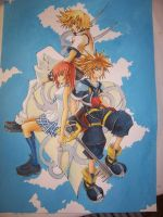 Kingdom hearts 2 by spellrose