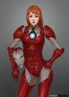 Pepper Potts aka Rescue by nesoun