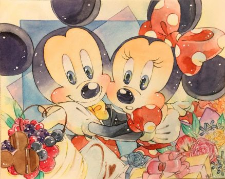 Happy Birthday Mickey  Minnie!!!!!!! by nula18