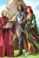 Once upon a time: Detail by SicilianValkyrie