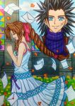 Zack x Aerith: Until my words reach you by dagga19