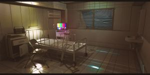 Resident Evil 3 Nemesis Hospital Room by AdamKop