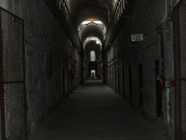 Eastern State Penitentiary 3 by Dracoart-Stock