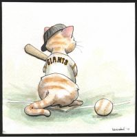 World Series Giants Kitten by lenity