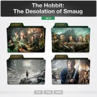 The Hobbit: The Desolation of Smaug (Folder Icon) by limav