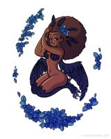 Mythological Pinup - Harpy by StaceyRobson