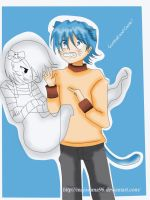 Gumball y Carrie by MajoSama96