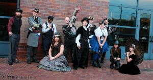 Steampunk Group 2 by Insane-Pencil