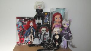 My doll collection 2013 by midnightstrinkets