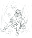 Tifa Plantacled by TheDiDSquid