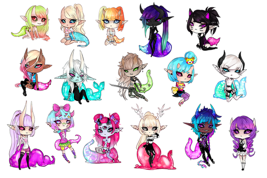 Mini Munchs by Cyleana