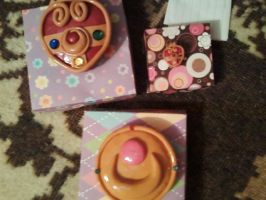 Sailor Moon Brooches 11.7.11 by aliciamarie923