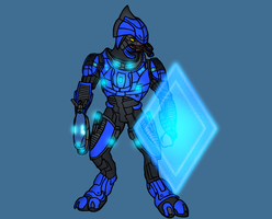 Sangheili Combat Alt Armor by PD-Black-Dragon