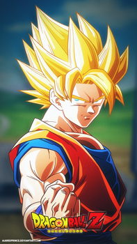 DragonBall Z [Phone Wallpaper] by AubreiPrince