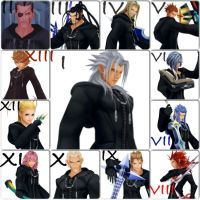 Organization XIII (Text Ver.) by FireFeyRose412