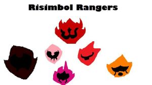 Mighty Morphin Risimbol Rangers by skysoul25