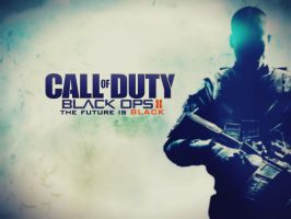 Call Of Duty Black Ops II - The Future Is BLACK by SottoPK