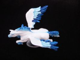 Breyer SM Pegasus Custom by colorscapesart