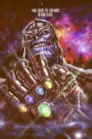 THANOS - Infinity War by EddieHolly