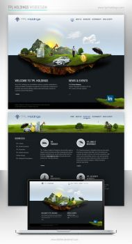 TPL Holdings Web Design by aliather