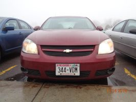 Owner of a Red Chevy Cobalt you Left yer Lights on by eyecrunchyfraug