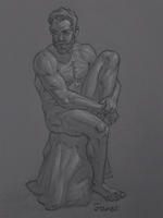 Figure Drawing #66 by AngelGanev