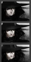 Vampire Hunter D (in different styles) by linnyxito