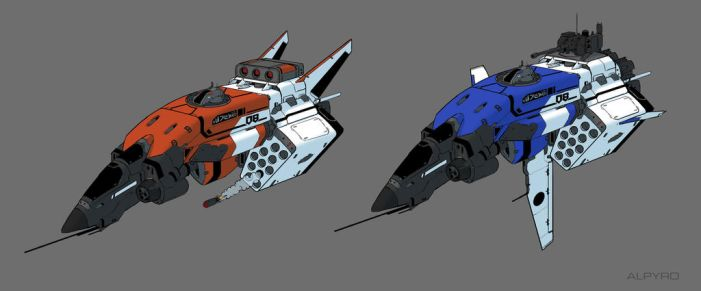 SPaceship 08 by AlpYro