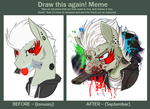 [Meme] Draw this again! by silent-umbra