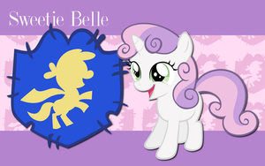 Sweetie Belle WP 3 by AliceHumanSacrifice0