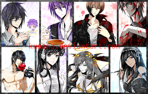 Sketched CGs Batch 1 by kunana
