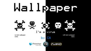Black and White Wallpaper Pack by CaHilART